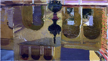 Reflections in a Fountain - Joaquin Sorolla Y Bastida