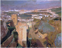 Tower of Seven, pont Alhambra, Granada - Joaquin Sorolla Y Bastida