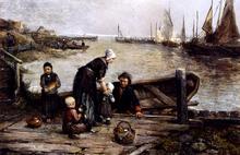A Fisherman's Family, Marken