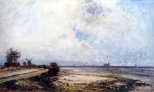 Dutch Landscape - Johan Barthold Jongkind