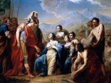 The Queen of Sheba Kneeling before King Solomon
