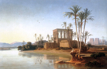 The Ruins at Philae, Egypt - Johann Jakob Frey
