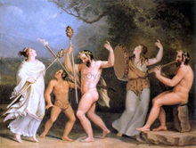Dance of the Fauns and the Meneads