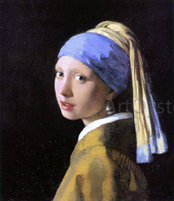 A Girl with a Pearl Earring - Johannes Vermeer