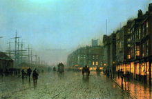 Liverpool from Wapping - John Atkinson Grimshaw