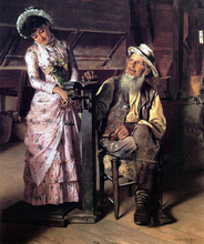 A New Weight - John George Brown