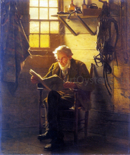 An Idle Hour - John George Brown