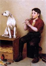 Music Hath No Charms - John George Brown