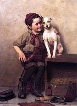 My Pardner - John George Brown