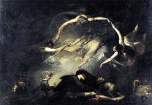 The Shepherd's Dream - John Henry Fuseli