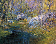 A Spring Brook - John Joseph Enneking