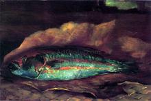 Study of the Parrot Fish - John La Farge