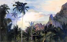 The End of Cook's Bay, Island of Moorea, Society Islands, 1891, Dawn - John La Farge