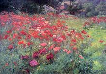 In Poppyland - John Ottis Adams
