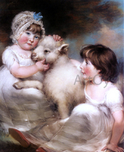 Children and Animals Paintings