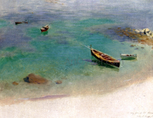 A Sketch: Capri - John Singer Sargent