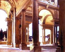 A Study of Architecture, Florence - John Singer Sargent
