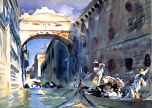 A Bridge of Sighs - John Singer Sargent