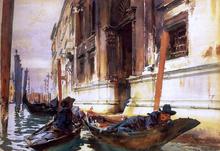 Gondolier's Siesta - John Singer Sargent