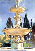 In a Medici Villa - John Singer Sargent
