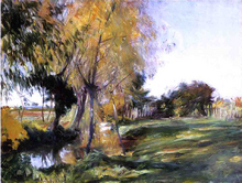 Landscape at Broadway - John Singer Sargent