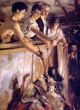Marionettes - John Singer Sargent