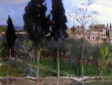 Mediterranean Landscape - John Singer Sargent