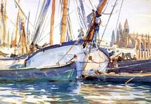 A Shipping Scene, Majorca