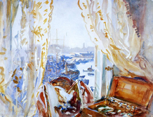 View from a Window, Genoa - John Singer Sargent