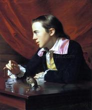 Boy with a Squirrel - John Singleton Copley