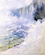 Niagara in Winter - John Twachtman
