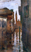 The Campanile, Late Afternoon - John Twachtman