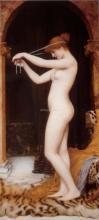Venus Binding Her Hair