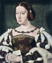 Portrait of Eleonora, Queen of France