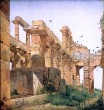 The So-Called Temple of Poseidon, Paestum - Jorgen Roed