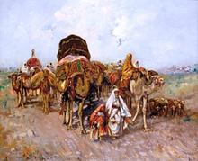 Caravana Arabe - Jose Navarro Llorens