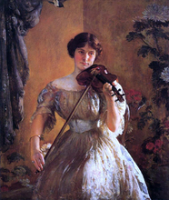 The Kreutzer Sonata (also known as Violinist II) - Joseph DeCamp