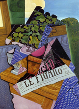 A Pot of Geraniums - Juan Gris