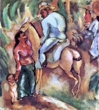 Cuban Rider - Jules Pascin