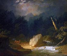 The Storm - Jules-Adolphe Breton