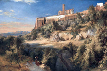 View of Assisi - Carl Blechen