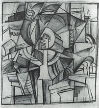 Cubo Futurist Composition