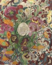 Still Life with Flowers - Leo Gestel