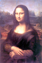 Mona Lisa (also known as La Gioconda) - Leonardo Da Vinci