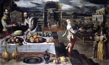 Banquet in a Formal Palace Garden