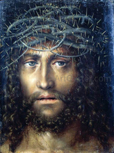 Head of Christ Crowned with Thorns