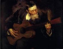 Hombre Tocando la Guitarra - Luis Graner