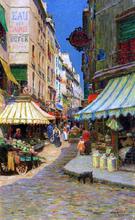 Market Day, Paris - Luther Emerson Van Gorder