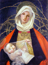 Virgin and the Child Paintings