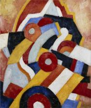Abstraction - Marsden Hartley